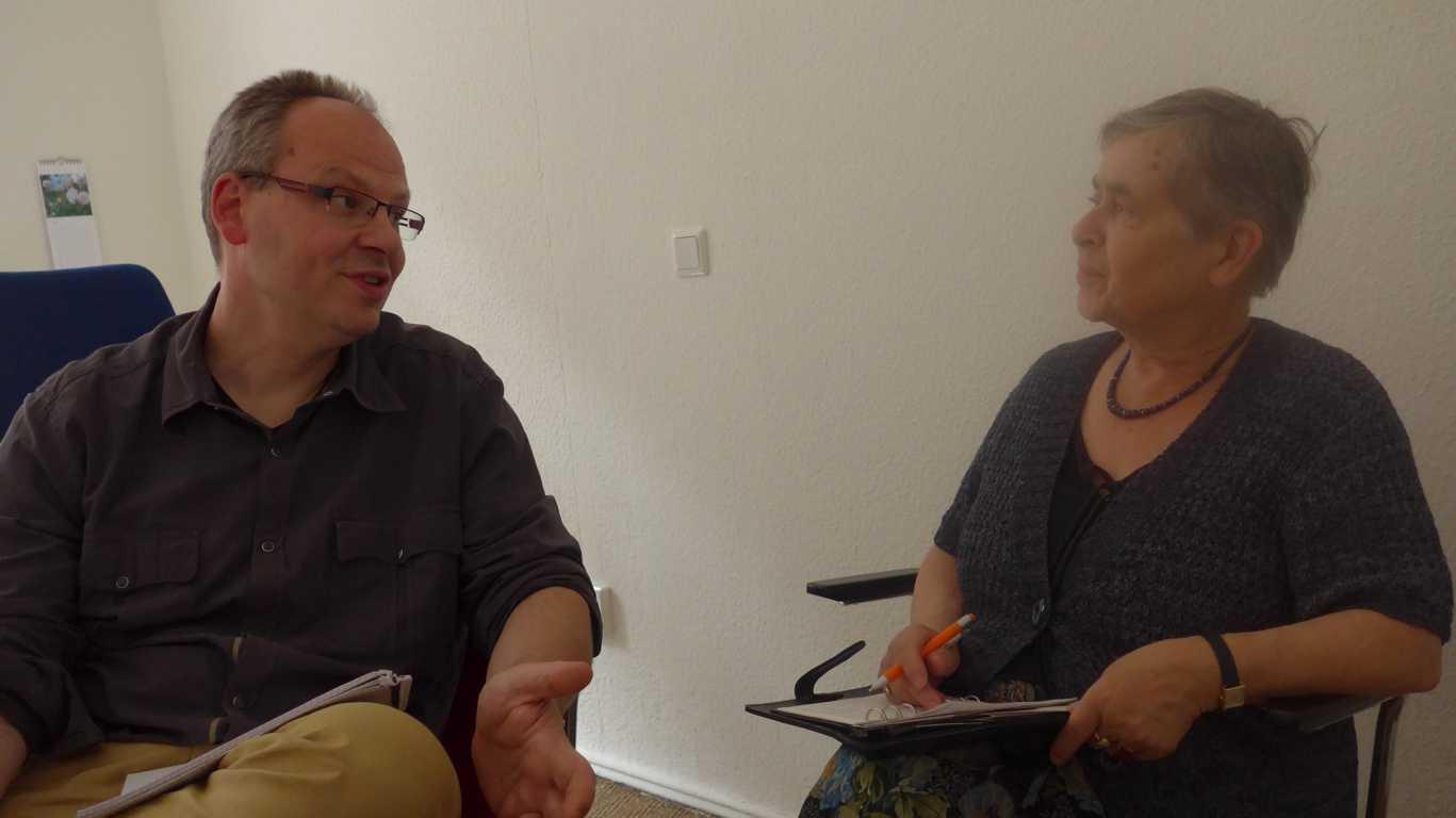 Herr Schumann und Frau Halten-Bartels